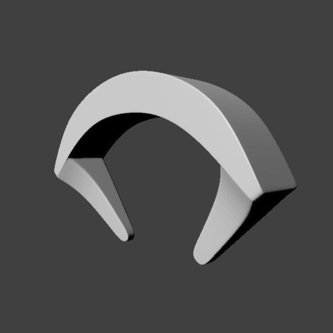 Download 3D printer designs Wall-Mounted Headphone Stand 2, MCKillerZ1