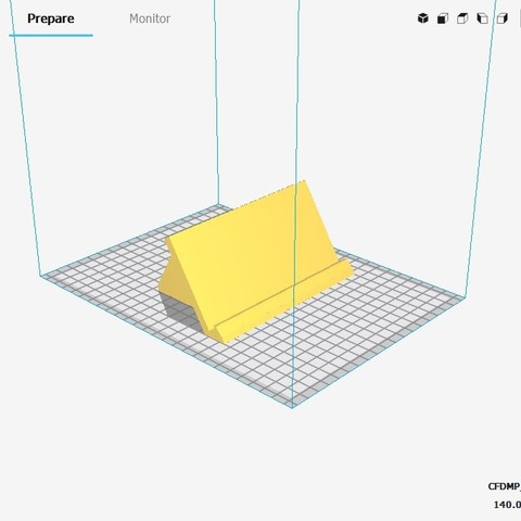 (PH) 1. Printing Perspective View.jpg Download STL file Phone Holder • Model to 3D print, MCKillerZ1