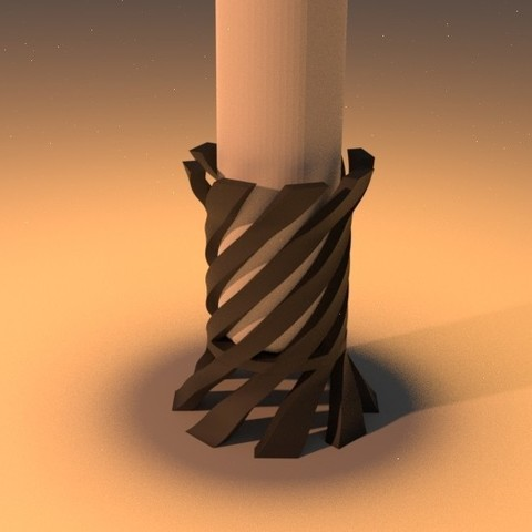 3D file Candle Holder, MCKillerZ1