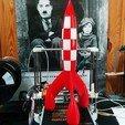 IMG_20170902_1050242.jpg Télécharger fichier STL gratuit Fusée Tintin (Tintin Rocket) • Design pour impression 3D, tiih