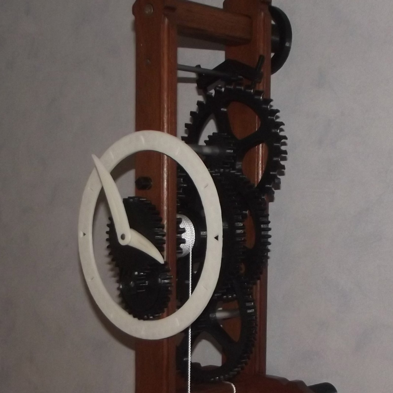 Horloge - Copie.JPG Download free STL file Mechanical clock to go up • Object to 3D print, CedricRoy