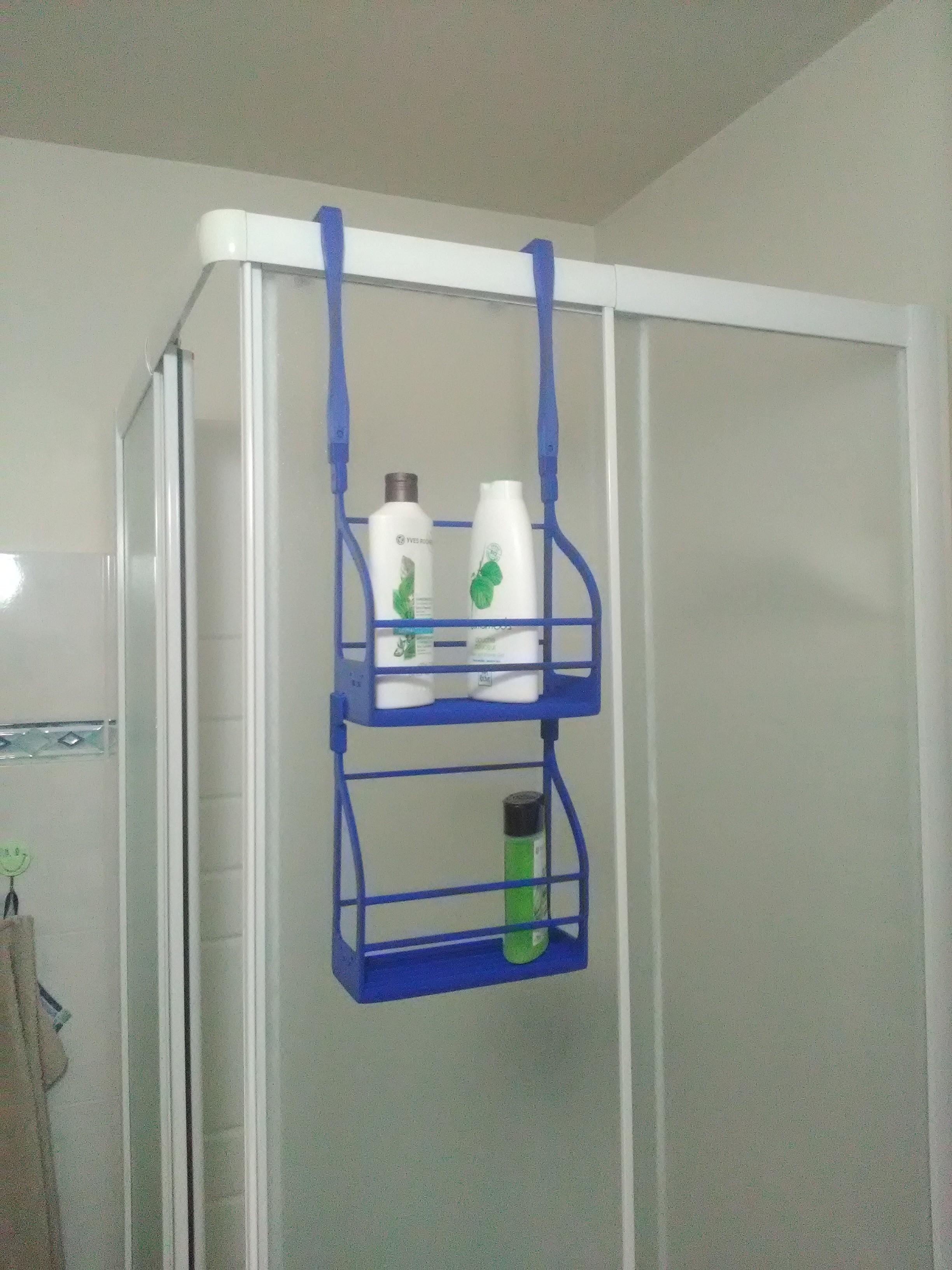 IMG_20171129_182435.jpg Download free STL file Shower shampoo holder • 3D printable template, CedricRoy