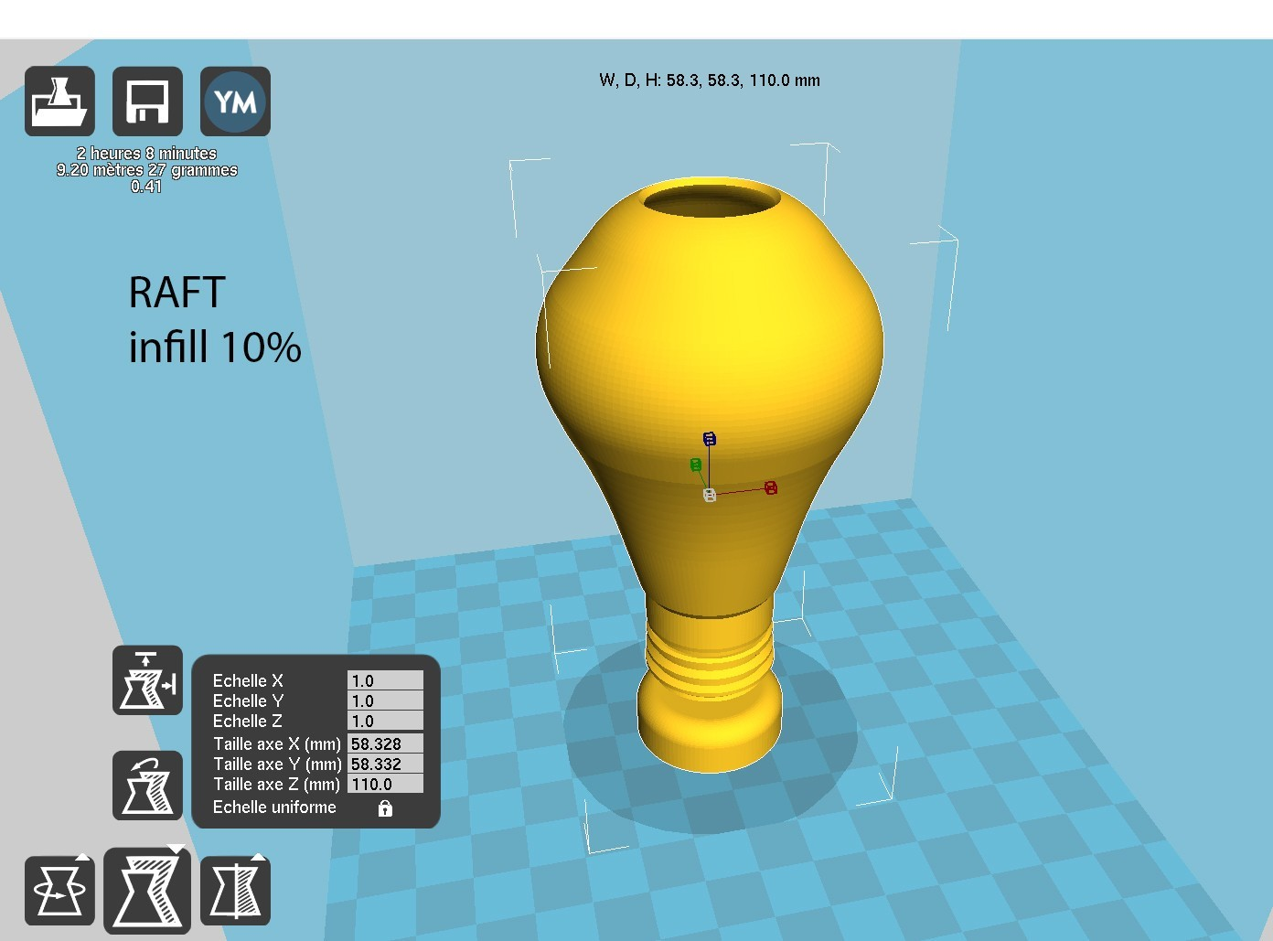 ampouleSTLO.jpg Download free STL file Bulb Pen Holder • 3D print template, Chris480