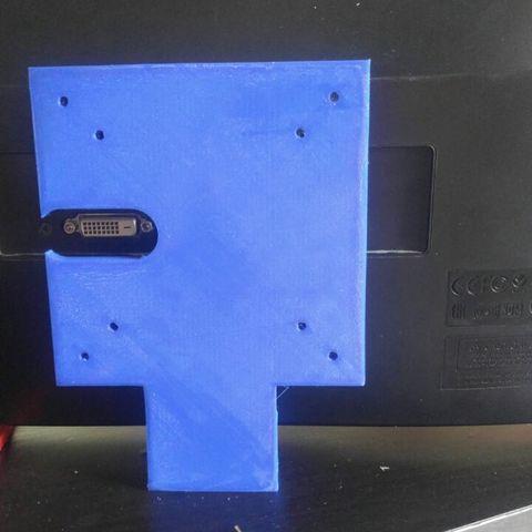Download STL file Acer H236HL Vesa Mount Adapter • 3D printing object, Tylenol