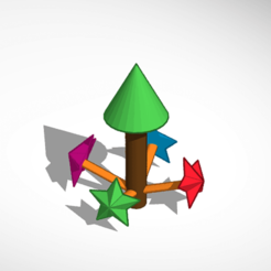 Download free 3D printer model Christmas Tree, Pexture