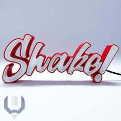 SHAKE9.jpg Download free STL file LED Marquee Shake! • 3D printing model, BREMMALAN