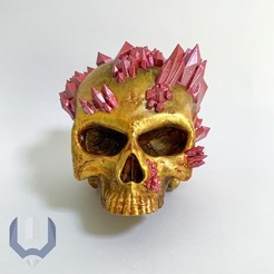 Download 3D print files quartz skull, BREMMALAN