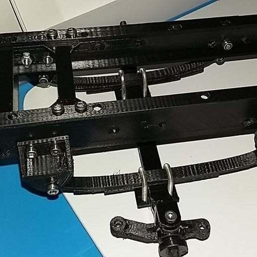 Télécharger fichier STL gratuit camion rc 1/14 essieu avant pour le cadre FH • Objet pour imprimante 3D, r083726