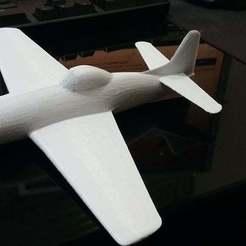 Télécharger modèle 3D gratuit Avion Bearcat F8F9, oiseau de guerre de la Seconde Guerre mondiale, r083726