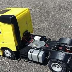 Descargar archivo 3D gratis camión rc 1/14 FH tubo de filtro de aire, r083726