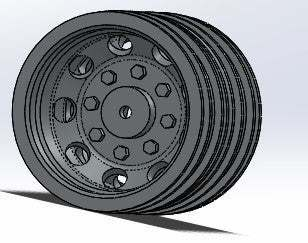 rear_rim_double_tires.jpg Download free STL file rc truck 1/14 rear rim double tires • 3D print object, r083726