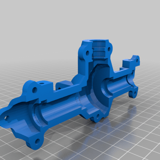 Download free 3D printing models M35A2 front axle housing, r083726