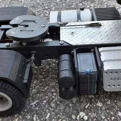 Descargar modelo 3D gratis camión rc 1/14 tanque de urea, r083726