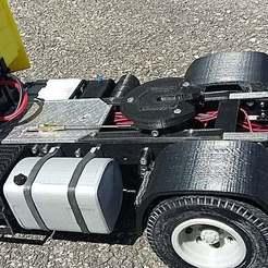 Descargar STL gratis camión rc 1/14 tanque de gasolina, r083726