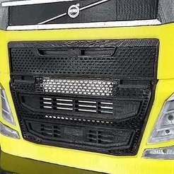 Descargar archivo 3D gratis Camión RC 1/14 FH luces delanteras, r083726