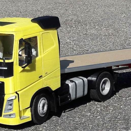 Download free 3D printer templates rc truck 1/14 FH body, r083726