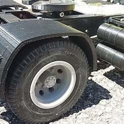 Descargar modelo 3D gratis camión rc 1/14 llanta trasera neumáticos dobles, r083726