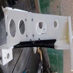 Descargar diseños 3D gratis Placa de chasis lateral Anet A8, r083726
