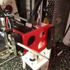 Télécharger fichier STL gratuit Extrudeuse Anet A8 montée sur l'axe Z • Modèle à imprimer en 3D, r083726