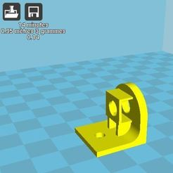 Télécharger fichier imprimante 3D gratuit crochet M5 pour le tableau IKEA, r083726