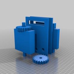 Impresiones 3D gratis La placa que gira para la leva, chris480