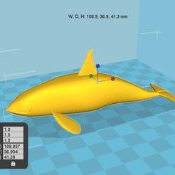 orka.jpg Download free STL file Killer Whale Orca • 3D printer model, chris480
