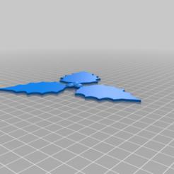 houx_3.png Télécharger fichier STL gratuit holly • Plan pour impression 3D, chris480