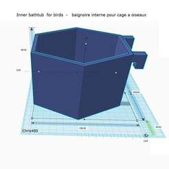 Download free STL file Inner bathtub - baignoire interne • 3D printable design, chris480