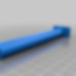 perchoir_perruche.stl Download free STL file Perch for bird . Perchoir pour oiseau • 3D printable design, chris480