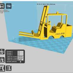 monfen.jpg Download free STL file ForkLift phone holder • 3D printer model, chris480