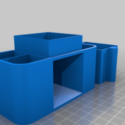 Mini_Desk_Organizer.png Download free STL file Mini Desk Organizer • 3D printing object, chris480