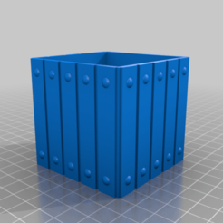 Download free 3D printer designs little wood box style, chris480