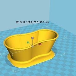 Download free 3D printing designs Soap holder bath style, chris480