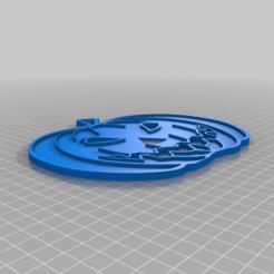 citrouille_B.png Télécharger fichier STL gratuit potiron plat • Objet pour impression 3D, chris480