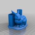 1c2bce7a64e1efa67ba0ec7b5e39faec.png Télécharger fichier STL gratuit Porte-plume Bunny • Design imprimable en 3D, chris480