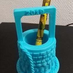 Descargar Modelos 3D para imprimir gratis Portabolígrafos de pozo, chris480
