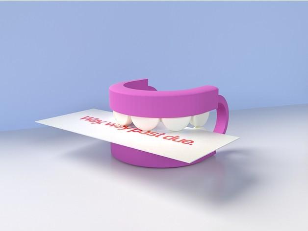 52a602dc88f2d8d03dde6d774a61ec87_preview_featured.jpg Download STL file REMEMBER TEETH • 3D printer model, GrahamIndustries