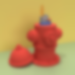 LIGHT-A-FIRE_HYDRANTHOSE_THINGS.stl Download STL file LIGHT-A-FIRE HYDRANT • 3D print object, GrahamIndustries