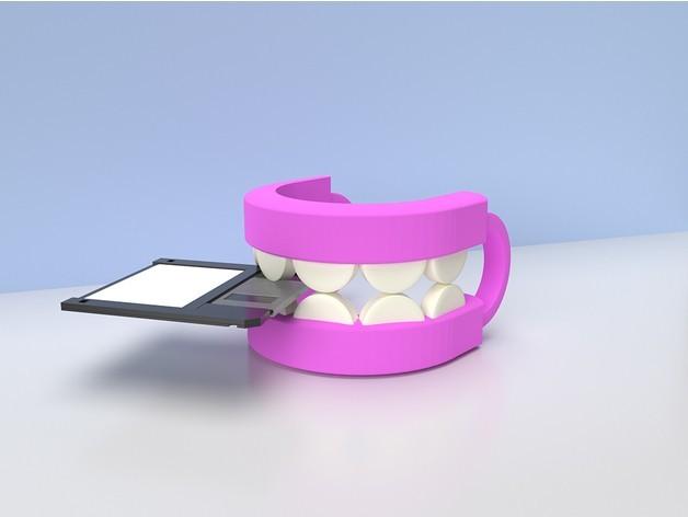 9137b7e96fa005be205f5b077a678ebc_preview_featured.jpg Download STL file REMEMBER TEETH • 3D printer model, GrahamIndustries
