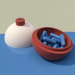 3D printer file BOBBERBOWL, GrahamIndustries