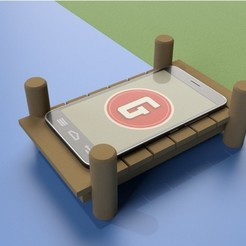 Fichier 3D STATION D'ACCUEIL POUR SMARTPHONE, GrahamIndustries
