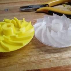 received_300428547639087.jpeg Download STL file turbine gear Smart Tek kitchen assist • 3D printing template, Evar