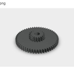 engranaje reel (3).stl.png Télécharger fichier STL Engins de pêche au moulinet • Objet pour imprimante 3D, Evar