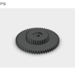 engranaje reel (4).stl.png Télécharger fichier STL Enrouleur de moulinet de pêche • Objet pour imprimante 3D, Evar