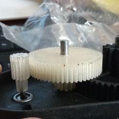 Impresiones 3D Engranaje y piñón para el coche eléctrico de los niños, Evar