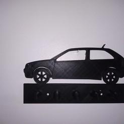 Imprimir en 3D VW GOL key holder, Evar