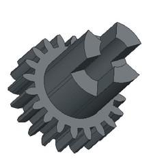 Download STL file Gear epilator, Evar