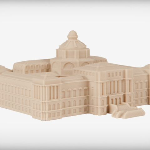 Free 3D printer designs The Library of Congress, JackieMake