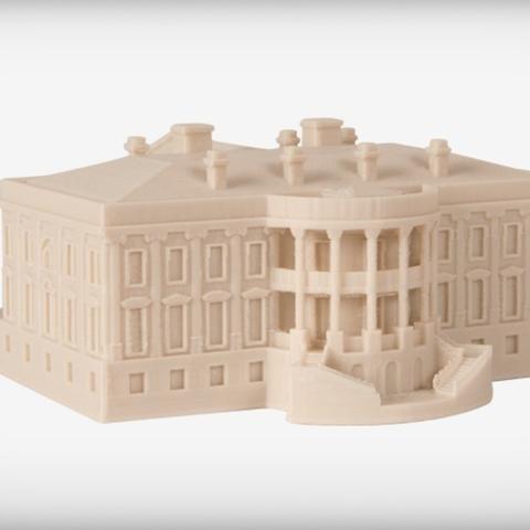 Download free STL The White House - Executive, JackieMake