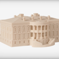 Free STL file The White House - Executive, JackieMake